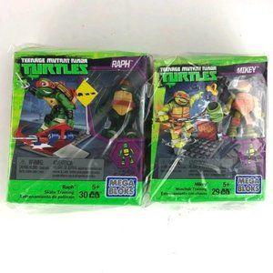 Mega Bloks Set of 2 TMNT Playsets